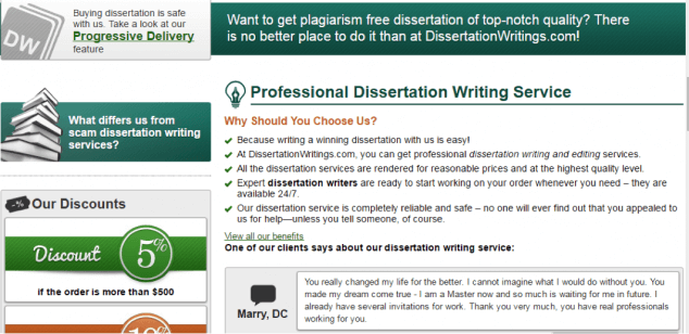 disserwritings