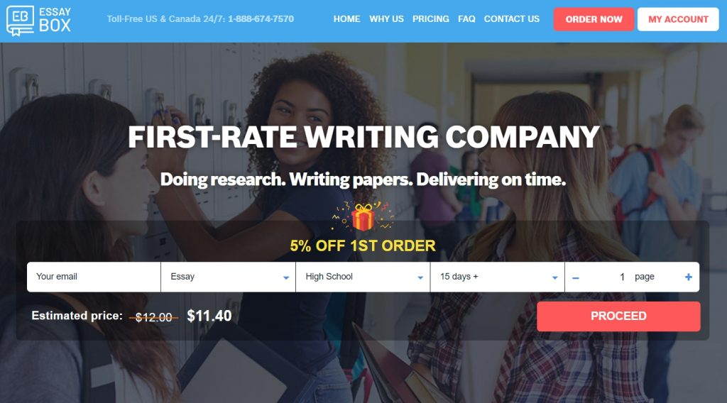 EssayBox.org - First-rate Essay Writing Service!