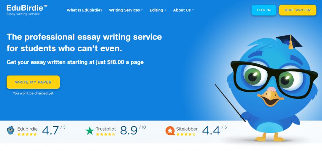 main page Edubirdie essay writing service