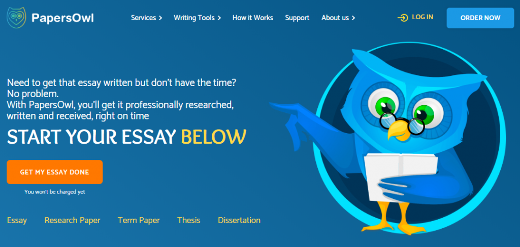 papersowl main page