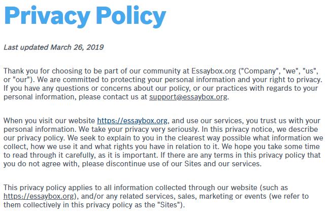 EssayBox.org-privacy